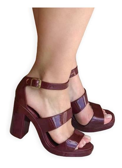 Sandália Tipo Melissa Model Lançamento 2019