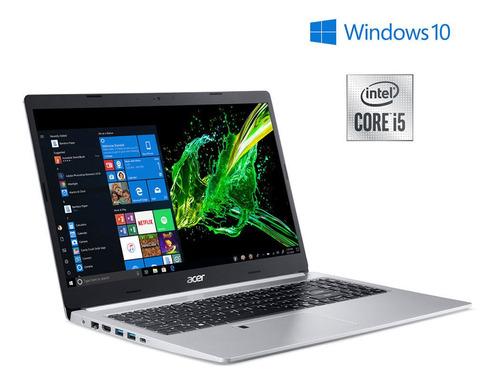 Imagen 1 de 10 de Notebook Acer 15,6  Core I5 8gb 1tb A515-54-51yx