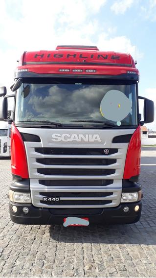 Scania R 440 Highline 6x4 Completona