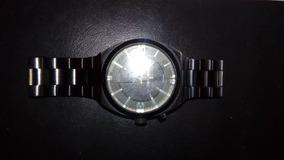 Relógio Diesel Dz 1415 Relógio Masculino Em Aço Preto.