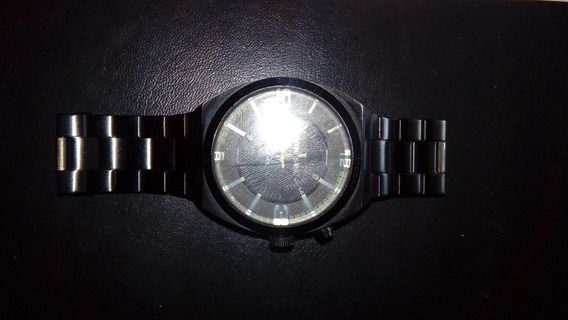 Relógio Diesel Dz 1415 Masculino Em Aço Preto.