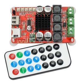 Placa Amplificada 100w Bluetooth 4.0 Fm Mp3 Usb Microsd