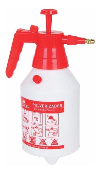 Pulverizador Com Compressão Prévia 2 Litros Worker