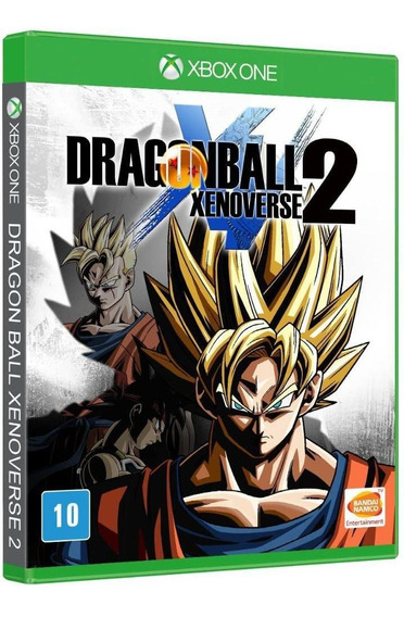 Dragon Ball Xenoverse 2 Midia Fisica Novo Original Xbox One