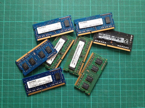 Memoria Ram 2gb Notebook Ddr3 Sodimm 1600mhz