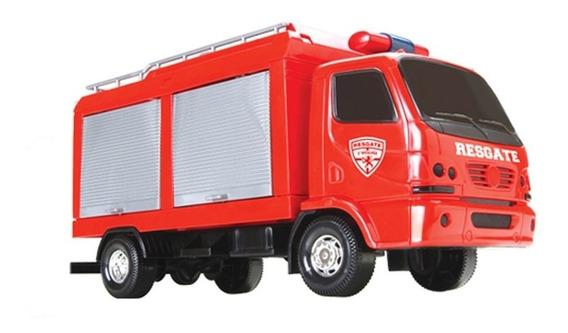 Caminhão Urban Resgate - Bombeiro - Roma Brinquedos