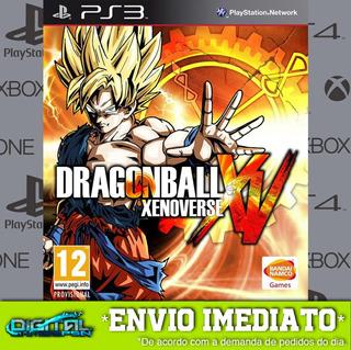 Dragon Ball Xenoverse Ps3 Midia Digital Envio Hj!