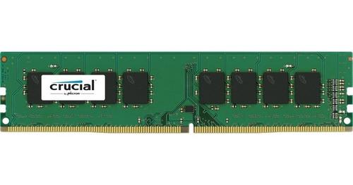 Memoria Ram 4gb Pc Ddr3  1600 Mghz Crucial Nueva Sellada
