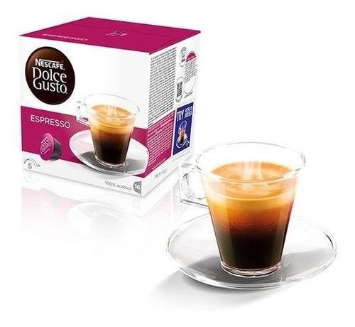 Capsulas Dolce Gusto Caja X16cap Espresso