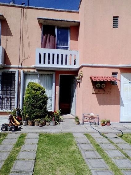 Rdv9690, Hacienda De Cuautitlan, Casa Duplex En Venta