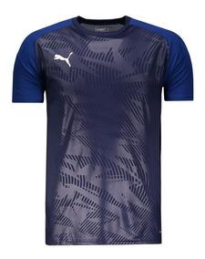 Camiseta Puma Teamsport Cup Training Core Marinho