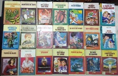 Livro Lote Com 12 Livros Série Vaga Lume Diversos