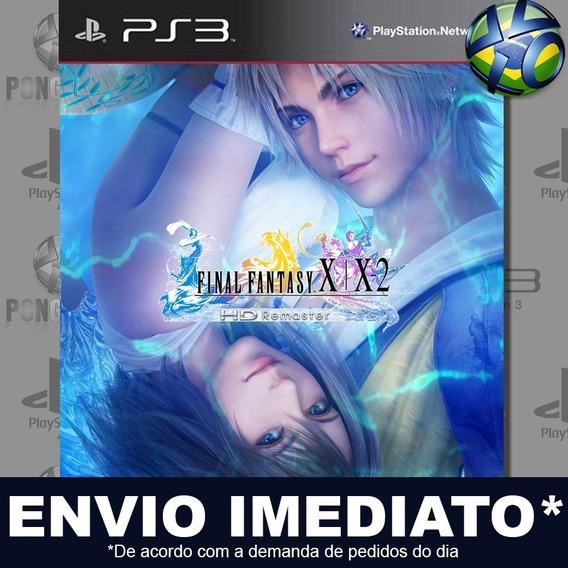 Final Fantasy X/x-2 Hd Remaster Ps3 Psn Jogo Promoção Play 3