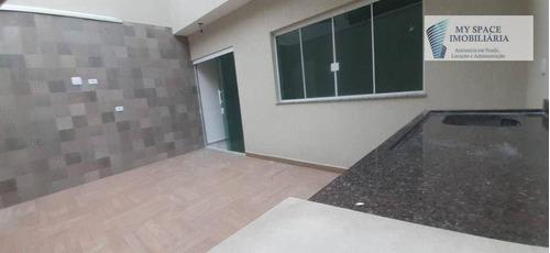 Imagem 1 de 15 de Sobrado Com 3 Dormitórios À Venda, 145 M² Por R$ 980.000,00 - Vila Alpina - São Paulo/sp - So0142