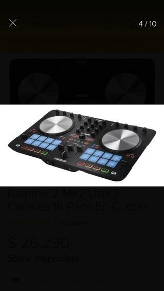 Controlador De Djreloop Beat Mix 2 Permuto Por iPhone