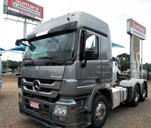 Mb Actros 2646 6x4 Bug Leve