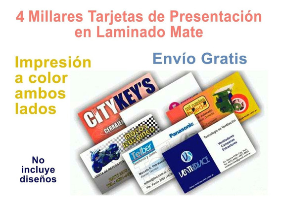 Impresora Para Hacer Tarjetas De Presentacion En Mercado