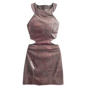 Vestido Feminino Com Recortes Na Cintura Roupas Femininas