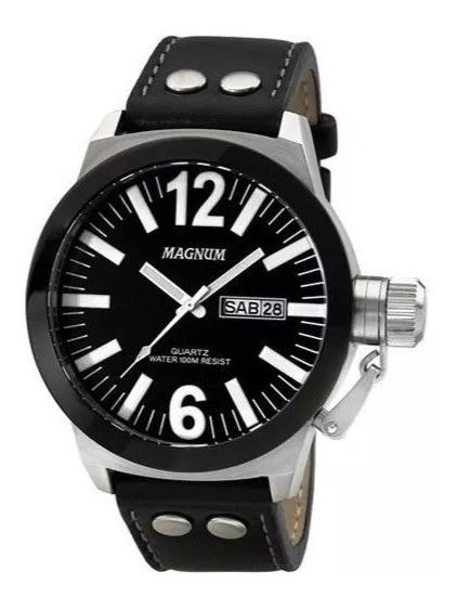 Relógio Magnum Masculino Analógico Ma31533c + Pulseira