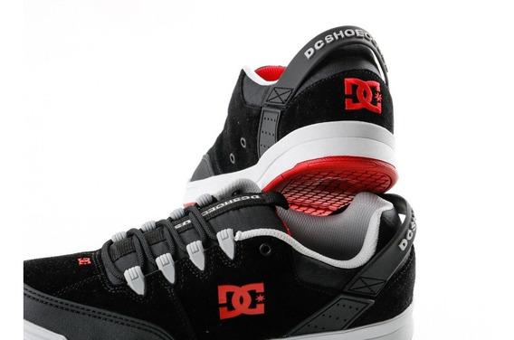 Zapatillas Dc Syntax Black Red Grey. Envíos Sin Cargo.
