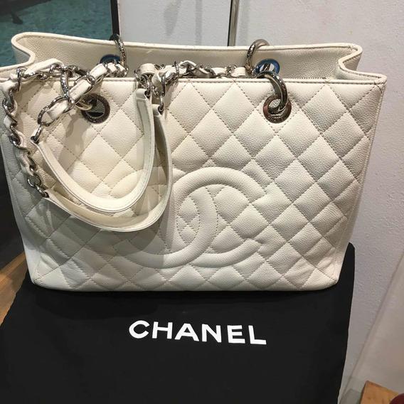 Bolsa Chanel 100% Autêntica Original Com Dustbag