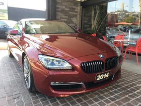 Bmw Serie 6 4.4 650ia Grand Coupe 2014 Rojo