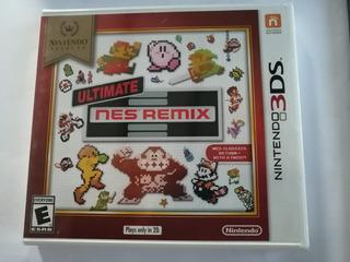 Ultimate Nes Remix Nintendo 3ds (nuevo Y Sellado)