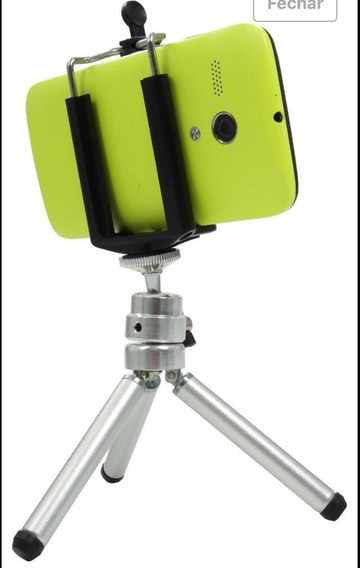 Mini Tripé Para Celular, Camera, Gopro, Osmo Com Suporte Cel