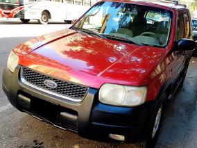 Ford Escape 2.0 4x4 Xlt Nunca Gnc Unica Por Su Estado