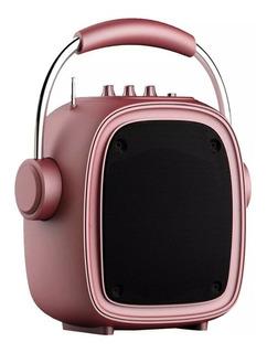 Parlante Kolke Bluetooth Kpm 258 Boogie Rosado