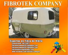 Casas - Rodantes Campers Fabricados En Fibra De Vidrio