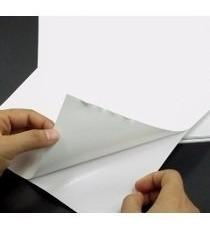 Papel Adesivo Fosco Tipo Sulfite - 90g - A4 - 200 Folhas