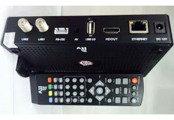 Controle Remoto Do I.tv Fight Novo