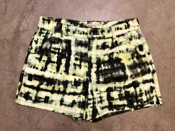 Shorts Calvin Klein Mujer Nuevo Original Importado De Usa
