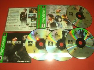 Final Fantasy 8 -juego -ps1
