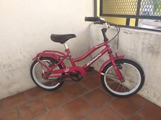 Bicicleta Schisano Paseo Full Rodado 14 Lista Para Usar Rosa