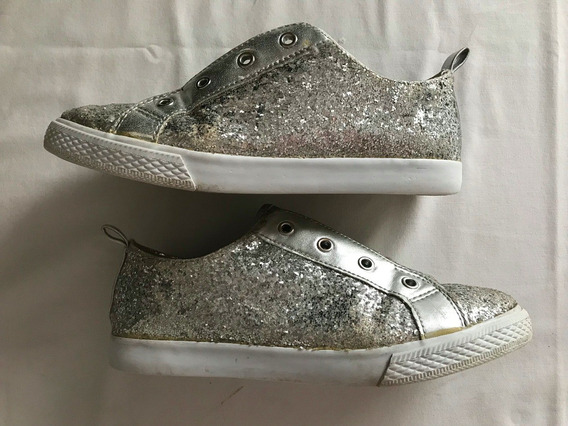 Super Sale! Gymboree. Zapatillas Glitter. Niñas. Talle 3 Us