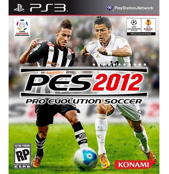 Game Pro Evolution Soccer Pes 2012 - Ps3 (novo Lacrado)