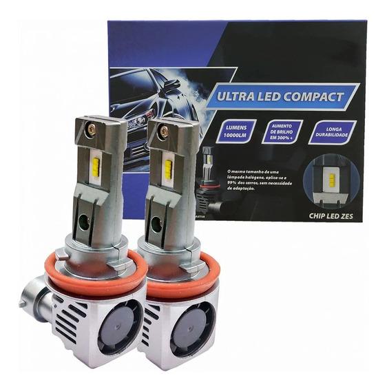 Par Lâmpada H11 Ultra Led Compact Chip Zes 6000k Par H8 H9