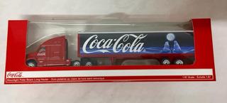 Carreta Miniatura Coca Cola Metal Importado Usa Escala 1:87