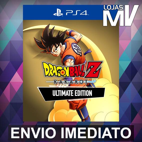Dragon Ball Z Kakarot Ed Definitiva Ps4 Código 12 Digitos Br