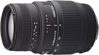 Lente Sigma 70-300mm F4-5.6 Dg Macro Para Sony Montura A