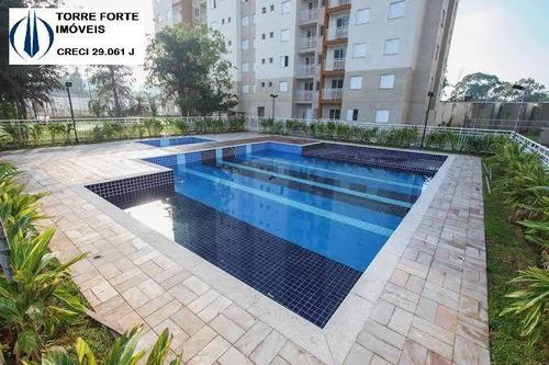 Apartamento Novo Clube Com 2 Dormitórios, Suíte E 1 Vaga Na Penha - 2484
