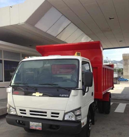 Camion Volteo Npr 2012