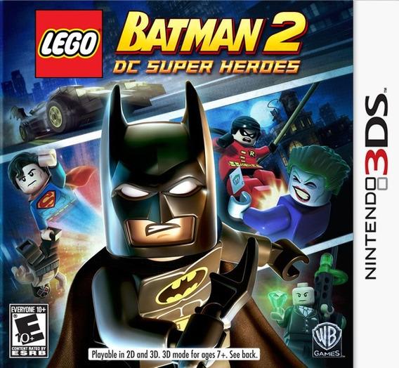 Lego Batman 2: Dc Super Heroes - Semi Novo - 3ds - Gamercado