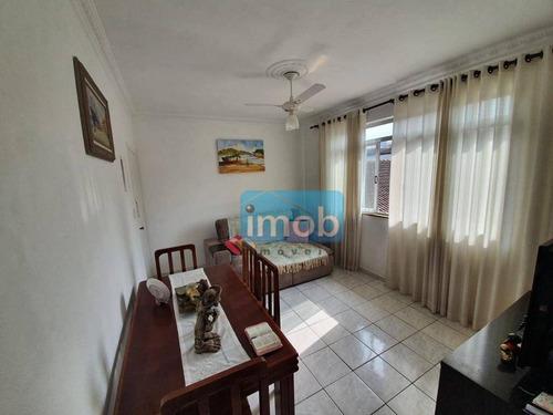 Imagem 1 de 8 de Apartamento Com 2 Dormitórios À Venda, 55 M² Por R$ 330.000,00 - Gonzaga - Santos/sp - Ap8040