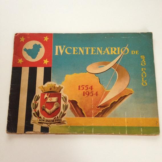 Livro Álbum De Figurinhas Centenário De São Paulo Cc147