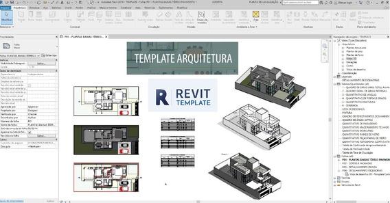 Template Revit Combo - Arquitetônico Hidrosanitario Elétrico