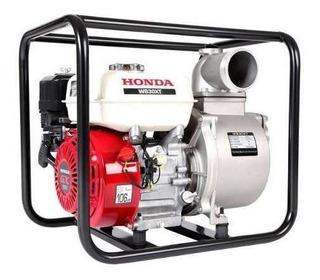 Motobomba Honda Wb30xh-drx 3 5,5 Hp Agua Limpia Naftera 110