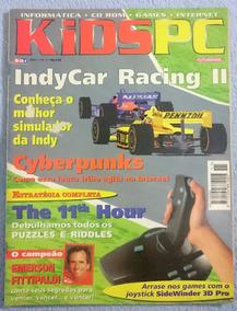 Revista Kidspc Nº11 C/poster Autografado Emerson Fittipaldi